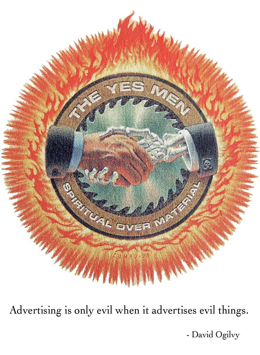 Yes Men Corporate Crest